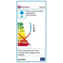 Paulmann Function Yourled Stripe 28,8W 12V 3 m Rgb DC schwarz K 70594
