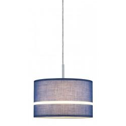Paulmann Schirm Tessa max. 50W blau Stoff 60324