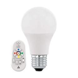 Eglo LM-E27 A60 9W RGBW/CCT inkl. Fernbediengung 11585