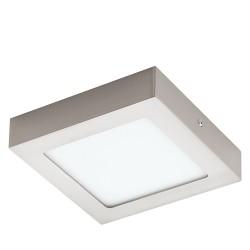 Eglo LED-Aufbausp.170X170 Nickel 30 Aufbauspot Fueva 110,95 W LED 94524