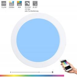 Eglo LED-BLE-RGB/CCT Spot DM 225 WS FUE 96668