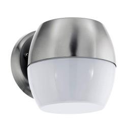Eglo LED Wandaussenleuchte Oncala 11W 950LM 3000K verchromt IP44 95982