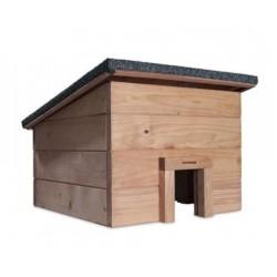 Windhager Igelhaus Holz lasiert 31x35x35 quadrati 06989