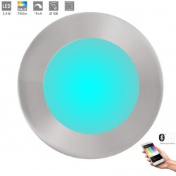 Eglo LED-BLE-RGB/CCT Spot DM 120 Nickel 32753