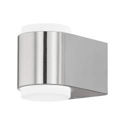 Eglo LED-Außenwandleuchte Briones edelstahl 95079