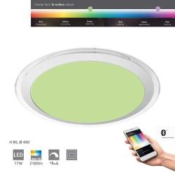 Eglo LED Wand- und Deckenleuchte Co 17W 2100LM 2700-6500K Kst. wei 96818