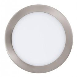 Eglo LED-Einbausp.D225 Nickel-m.300 Einbauspot Fueva 116,47 W LED 31675