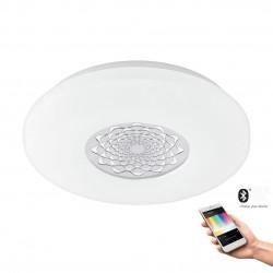 Eglo LED Wand- und Deckenleuchte Ca 17W 2100LM 2700-6500K Kst. wei 96821