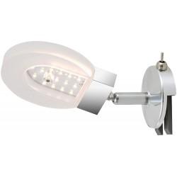 Briloner Surf LED Spiegelleuchte IP20 4,5W 450LM 3000K Kst chro 2297-018