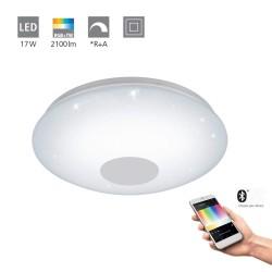 Eglo LED Wand- und Deckenleuchte Vo 17W 2100LM 2700-6500K weiss De 96684