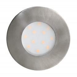 Eglo LED Einbauleuchte Pineda-IP 6W 500LM 3000K nickel-matt mod 96415