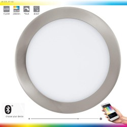 Eglo LED-BLE-RGB/CCT Spot DM 225 Nickel 96676