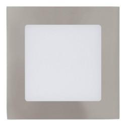 Eglo LED-Einbausp.120X120 Nickel 30 Einbauspot Fueva 15,5 W LED 94522