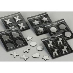 Zeller Magnet-Set, 4-tlg....