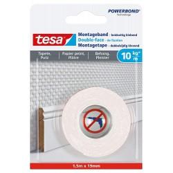 Tesa Montageband 1,5 m x 19...