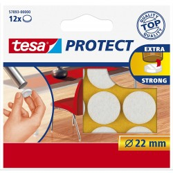 Tesa Tesa Filzgleiter rund...