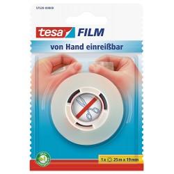 Tesa Film -von Hand...