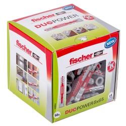 Fischer Dübel DUOPOWER 8x65...