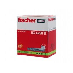 Fischer Duebel UX 6x50 R A...