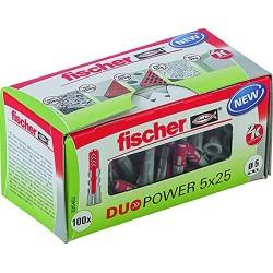 Fischer DUOPOWER Dübel 5x25...