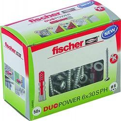 Fischer DUOPOWER Dübel 6x30...