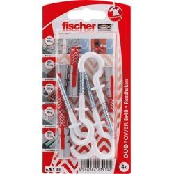 Fischer DUOPOWER Dübel 8x40...