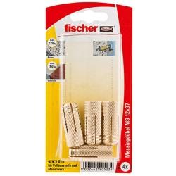 Fischer Messingduebel...