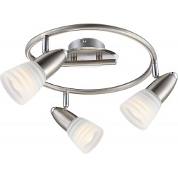 Globo LED-Spot nickel matt,...