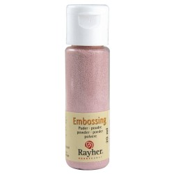 Rayher Embossing-Puder rose...