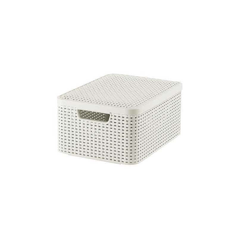 Curver Style Box 2 M Mit Deckel Creme 393x293x187 Cm 03618 885 00