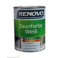 EM EM Zaunfarbe 2,5L weiss,...
