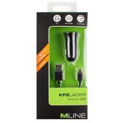 Kfz-Lader USB+Ladekabel...