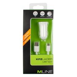KFZ-Lader+Datenkabel USB A...