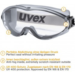 Conmetall Schutzbrille Uvex...