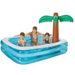 Happy Family Pool mit Palme...