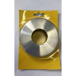Metall Niro-Abdeckrosette...