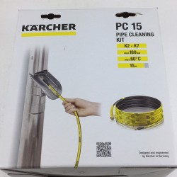 Karcher Rohrreinigungs Set 15 Meter