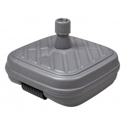 SCHIRM PE-Sockel m.Rolle Gew. 50kg Fbe: anthrazit, bis 48mm 85496MA
