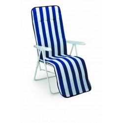 Best Relax-Liege Chiemsee weiss Polsterung 2 cm 34306802