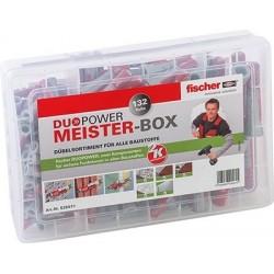 Fischer Meister-Box DUOPOWER Dübel 132-tlg. 535971