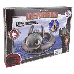 Happy Dragons Schwimmring Ohnezahn ca. 90 cm 16661