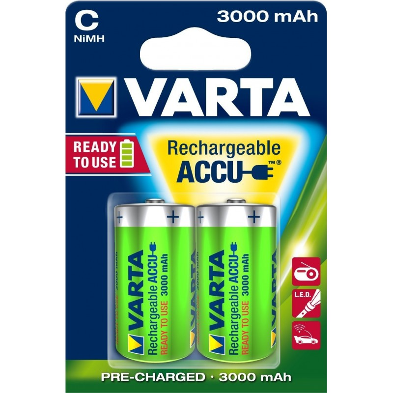 Varta Varta Akku Power Accu C, 2x Bli 56714101402