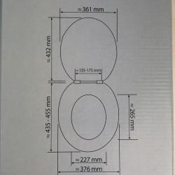 Conmetall HEART WC-Sitz...